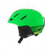 Helma Giro Nine mips, matte bright green,17/18