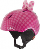 Helma Giro Launch Plus, pink bow polka dots, 18/19