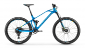 FOXY CARBON R 27,5, vibrant blue/yellow