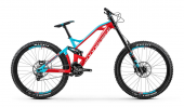 SUMMUM PRO 27,5, flame red/light blue