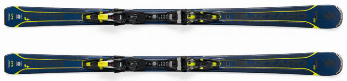 BLIZZARD Quattro 8.0 Ti, blue/yellow + TCX 12 DEMO, bl./ant./yell.